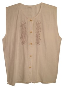 Button Down Shirt ivory