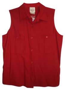 T R Bentley Button Down Shirt red