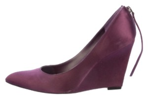 Givenchy Purple Wedges