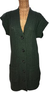 Twelfth St. by Cynthia Vincent V-neck Cableknit Sweater Dress