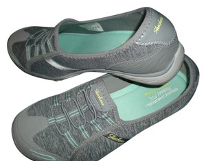 Skechers Sneakers Tennis Gray & Aqua Athletic