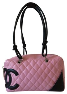 Chanel Cambon Quilted Calfskin Shoulder Bag