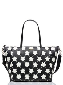 Kate Spade Black and Cream Diaper Bag