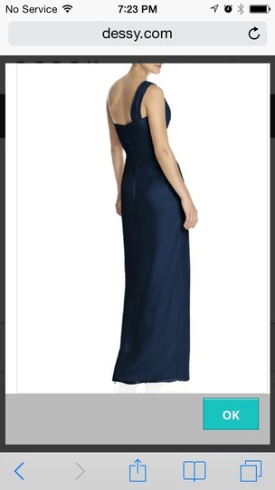 Dessy Midnight 2905 Formal Bridesmaid/Mob Dress Size 4 (S)
