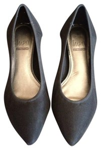 Impo Stretch Comfortable Kitten black Pumps