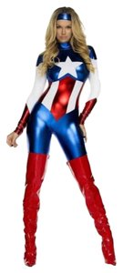 Forplay Captain America Costume Dress