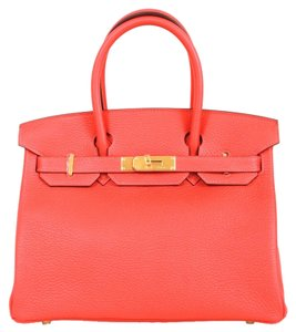 Hermès Hermes Rouge Pivione Tote in Red