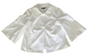 Peace of Cloth 3/4 Sleeve Spring Bell Sleeve White Jacket