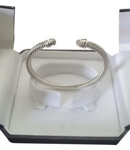 David Yurman David Yurman Cable Classics' Bracelet With Diamonds