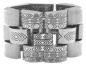 House of Harlow 1960 House of Harlow 1960 Silver Chunky Link Bracelet