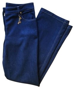 Escada Trouser/Wide Leg Jeans-Dark Rinse