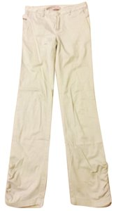 Farinaz Taghavi Straight Pants Off white