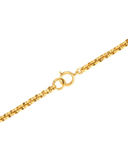 Chanel Chanel Gold CC Flower Necklace Image 6