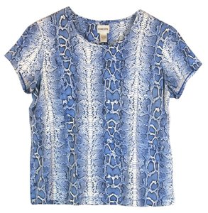 Chico's T Shirt Blue