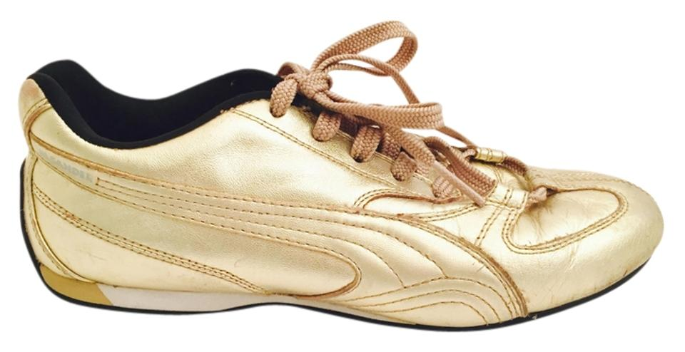 sale retailer c7535 a50fe Metallic Gold /Puma Sneakers