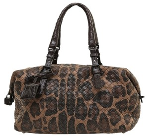 Bottega Veneta Satchel in Browns
