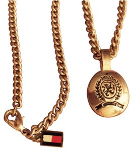 Tommy Hilfiger Tommy Hilfiger silver chain link necklace with Griffin Crest