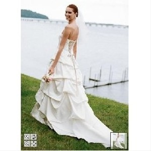 David's Bridal Style Number T9168 Wedding Dress