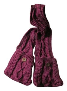 Other Brand new/ without tags long winter scarf, Bright sparkly plum color.
