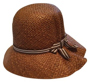Anthropologie Retro straw hat