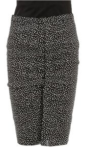 Nina Ricci Skirt Black and White
