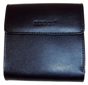 Buxton Buxton Leather Ladies' Minimizer Wallet and Coin Purse - Black.
