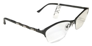 Judith Leiber ROYAL PLISSE JL1700 00 Titanium Reading Glasses Prescription Frames