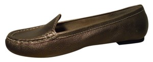 Talbots Leather gold Flats