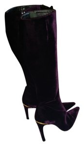 Versace Purple Boots