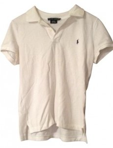 Ralph Lauren Button Down Shirt white