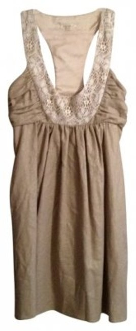 Preload https://item5.tradesy.com/images/anthropologie-brown-with-light-gold-shimmer-mini-cocktail-dress-size-0-xs-6514-0-0.jpg?width=400&height=650