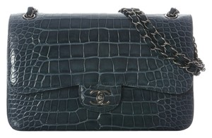 Chanel Alligator Ch.j0122.01 Classic Shoulder Bag