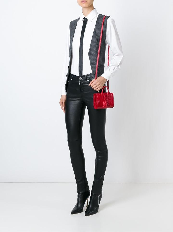 ysl inspired shoes - Saint Laurent Nano 'sac De Jour' Red Tote Bag on Sale, 37% Off ...