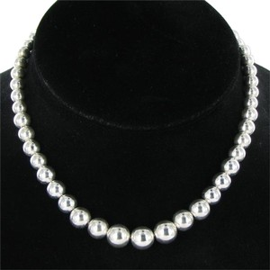 Tiffany & Co. Tiffany & Co. Beads Necklace Graduated Sterling Silver 16 inch