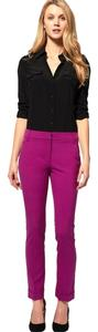 ASOS Bright Colored Trousers Trouser Pants Fuchsia