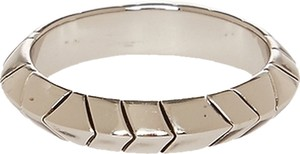 House of Harlow 1960 HOUSE OF HARLOW 1960 Silver Aztec Stack Ring