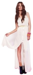 Ivory Maxi Dress by Finders Keepers Bohemian Boho Festival Hippie