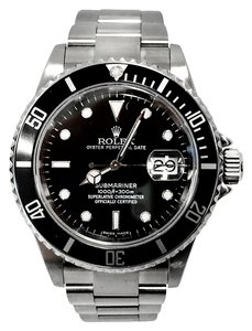 Rolex Rolex Submariner With Date Black Dial 16610 Vintage