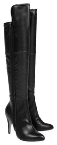 MIA Over The Knee black Boots