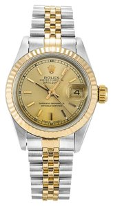 Rolex ROLEX DATEJUST 69173 18K YELLOW GOLD AND STAINLESS STEEL LADIES WATCH