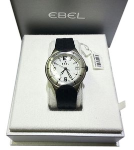 Ebel Ebel Watch, E-Type , E 9187C41, Stainless Steel Case, Rubber Strap, Swiss Quartz (Battery-Powered)