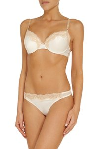 Elle Macpherson Intimates Ivory 34e Fly Butterfly Fly Contour Bra