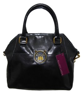 Elliot Lucca El New Tote Rare Sale Satchel in black