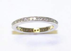 French Cut Brilliant Diamond Eternity