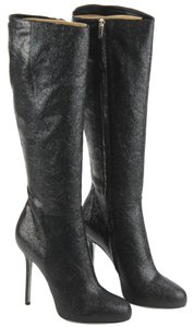 Sergio Rossi Leather Nero (Black) Boots