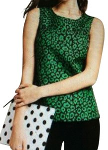 Banana Republic Top Green and Black