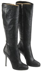 Sergio Rossi Boot Leather Nero (Black) Boots