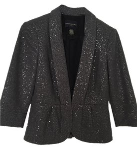 Banana Republic Sequin Gray Blazer