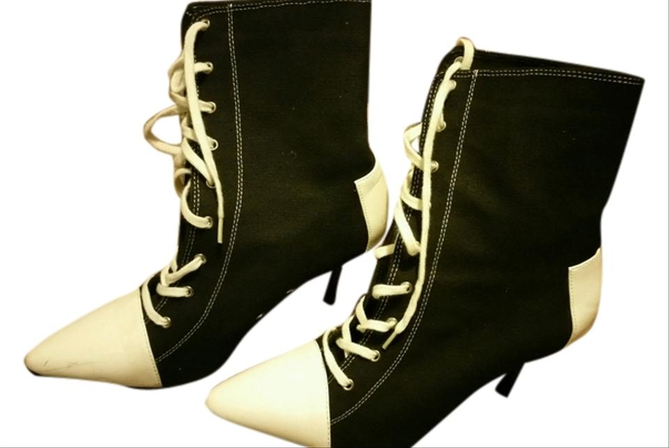 Black and White Halloween Costume Converse Boots/Booties Size US 8 ...