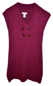 Glimmer short dress Maroon on Tradesy